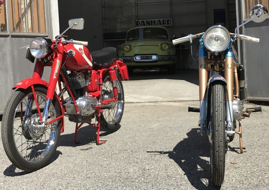 Mondial e Panhard, un'esclusiva collezione privata