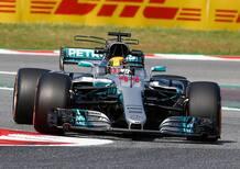 F1, GP Spagna 2017, FP2: Hamilton davanti a tutti