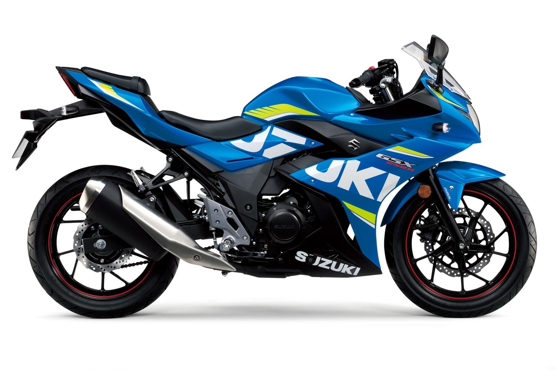 Suzuki GSX250R. Potenza e prezzo