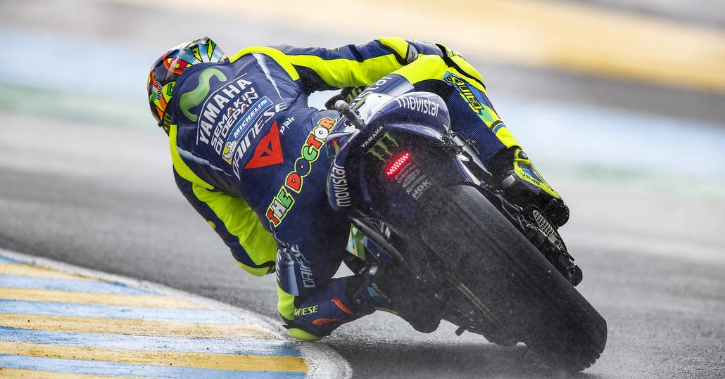 MotoGP 2017. Rossi: Bene sul bagnato