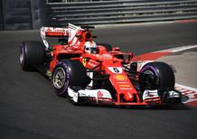 F1, GP Montecarlo 2017, FP2: Vettel al top