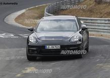 Porsche Panamera, la seconda generazione avvistata al Nurburgring
