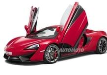 McLaren 540C: la nuova entry-level di Woking