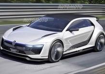 Volkswagen Golf GTE Sport concept: sognare con l'ibrido da 400 CV