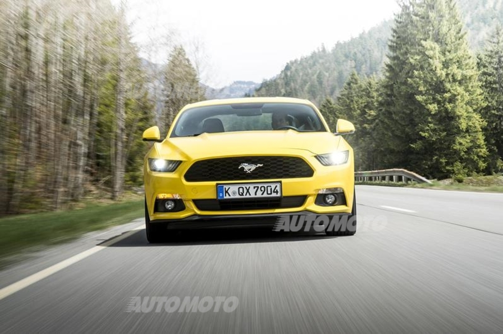 Nuova Ford Mustang Prove Automoto It