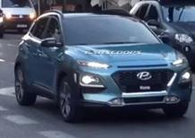 Hyundai Kona, le foto spia