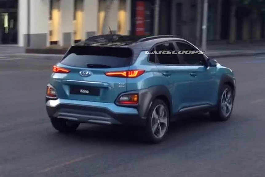 Hyundai Kona Le Foto Spia News Automoto It