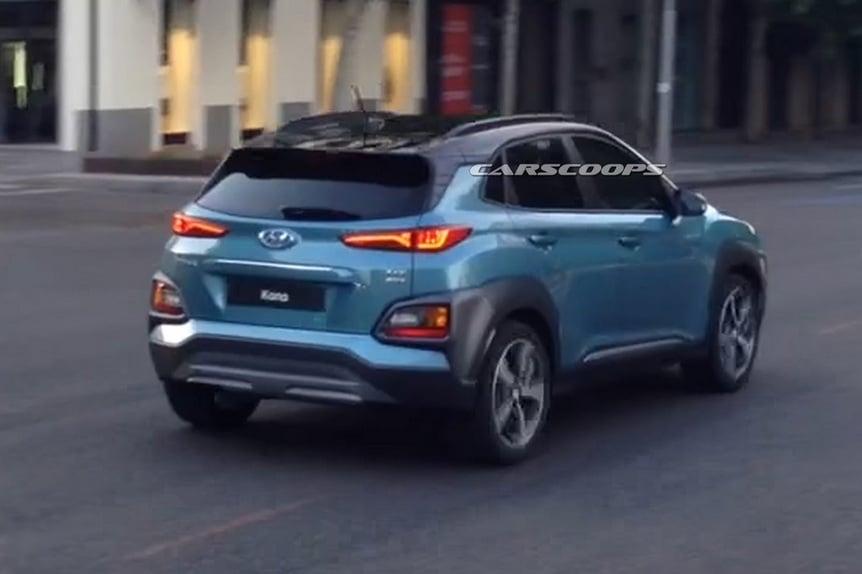 Hyundai Kona Le Foto Spia News Automoto It