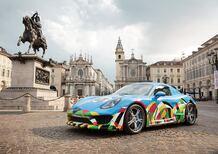 Porsche Torino-Zuffenhausen, la show car a Torino