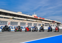 Comparativa Supersportive 2017 al Paul Ricard
