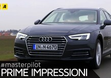 Audi A4 Avant g-tron, 170 CV a metano [Video primo test]