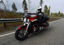 Harley-Davidson: richiamo per le Touring 2017