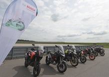 """Lo """"scudo digitale"""" per la sicurezza dei motociclisti secondo Bosch"""