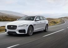 Jaguar XF Sportbrake, ecco la nuova generazione