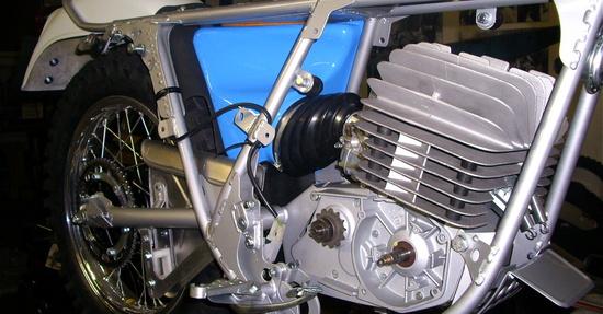 Il motore rimesso a nuovo