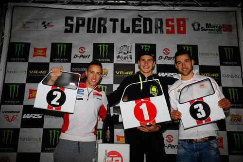 MotoGP 2015. Baldassarri vince la Spurtleda58 davanti a Dovizioso e Ferrari (2)