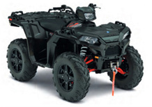 Polaris Sportsman XP 1000 E 4x4 EFI Stealth Black (2017 - 18)
