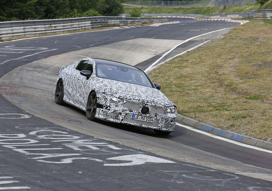 AMG GT, in arrivo la quattro porte