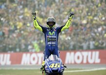 MotoGP 2017. Rossi: Che bello vincere anche nel 2017