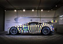 Aston Martin Vantage GTE, l'arte corre a Le Mans