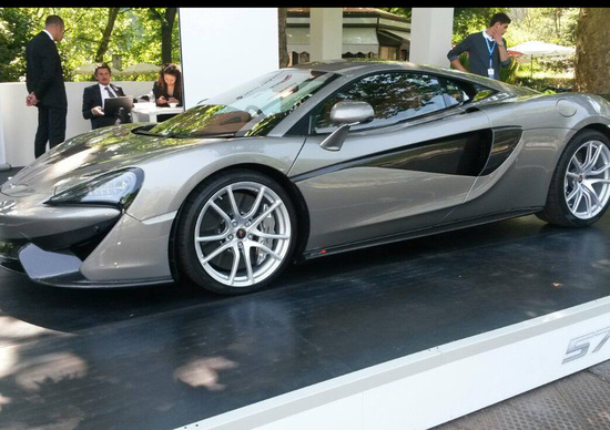 McLaren 570S: la belva domata del Valentino