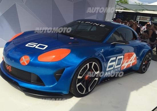 Alpine Celebration concept: anticipa la futura sportiva a motore centrale