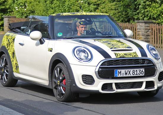 Nuova Mini Cabrio: ecco come sarà la versione en-plain air