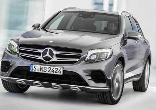 Mercedes GLC: ecco la nuova GLK, tutti i dettagli