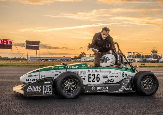 Da 0 a 100 km/h in 1,7 secondi: è il nuovo record del mondo!