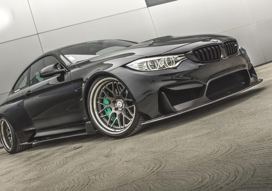 BMW M4 Coupé: TAG Motorsport la porta su un altro pianeta