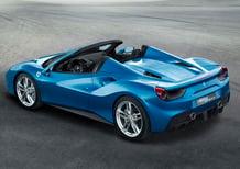 Ferrari 488 Spider: V8 biturbo per 670 CV en plein air