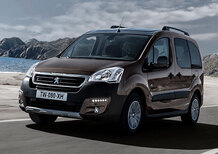 Peugeot Partner Tepee restyling