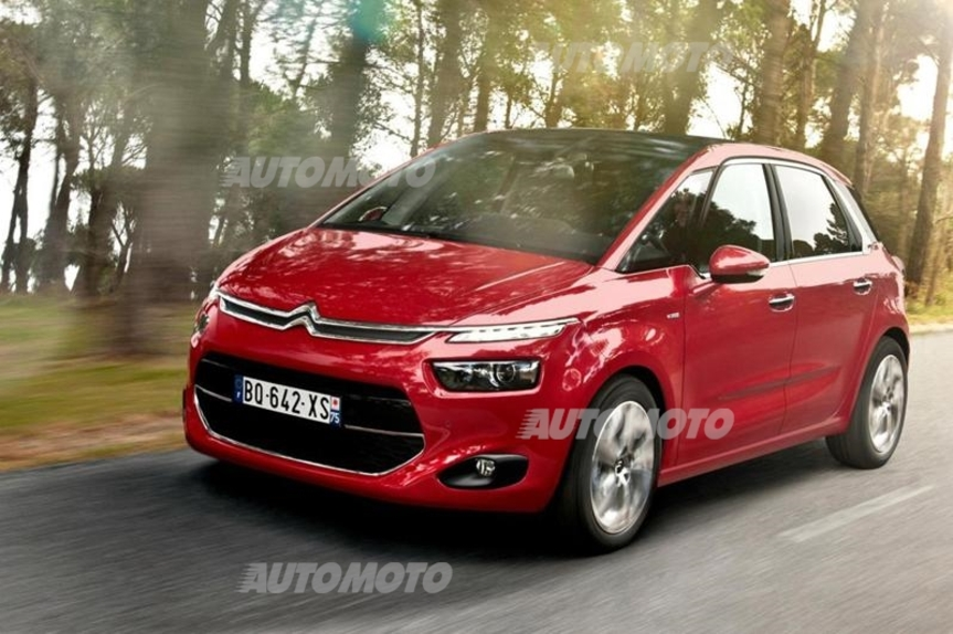 citroen c4 picasso 1 6 bluehdi eat6 prove. Black Bedroom Furniture Sets. Home Design Ideas
