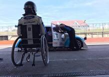Billy Monger torna al volante di un'auto da corsa