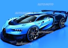 Bugatti Vision Gran Turismo: dai videogame alla realtà