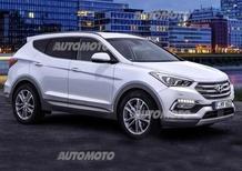 Hyundai Santa Fe restyling: piccoli ritocchi di metà carriera