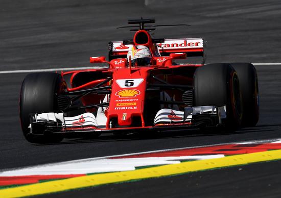 F1, GP Austria 2017, FP3: Vettel al top