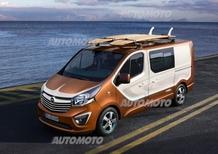 Opel Vivaro Surf Concept, dedicato ai surfers
