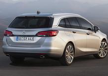 Opel Astra Sports Tourer: 200 kg più leggera e motori frizzanti