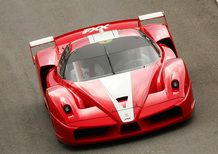Schumacher, all'asta la Ferrari FXX