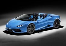 Lamborghini Huracan Spyder: supercar a cielo aperto