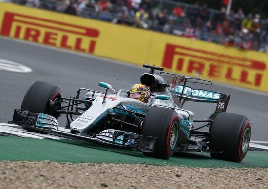 F1, GP Silverstone 2017: vince Hamilton. Terzo Raikkonen