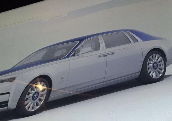 Rolls Royce, ecco come sarà la nuova Phantom