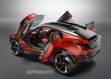 Nissan Gripz Concept, è la prossima Juke?