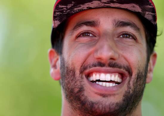 F1, Daniel Ricciardo: «La Ferrari? Un giorno, chissà...»