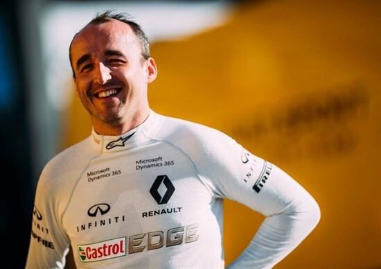 F1: Kubica guiderà la Renault R.S.17 nei test in Ungheria