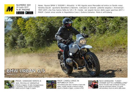 Magazine n° 301, scarica e leggi il meglio di Moto.it