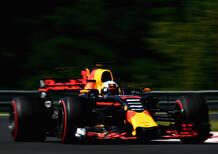 F1, GP Ungheria 2017, FP2: Ricciardo davanti a tutti