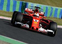 F1, GP Ungheria 2017, FP3: Vettel al top