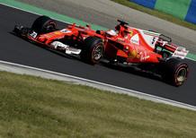 F1, GP Ungheria 2017: pole per Vettel. Secondo Raikkonen